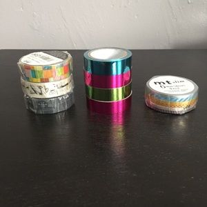 Washi Tape Lot of 8